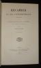 Récamier et ses contemporains, 1774-1852. Etude d'histoire de la médecine aux XVIIIe et XIXe siècles. Triaire Paul