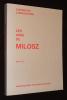 Cahiers de l'association Les Amis de Milosz, n°40-41-42. Collectif