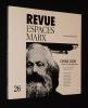 Revue Espace Marx (n°26, premier semestre 2009) : Chine 2009, pour un état des lieux. Collectif