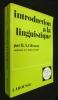 Introduction à la linguistique. H.A.Gleason