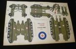 Affiche à découper : Armée de terre, artillerie. Anonyme