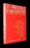 11 profils d'architectes. architectures originales du XXe siècle. Collectif