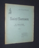 Saint Samson . Abbé Duine