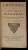 L'Histoire du Cardinal Mazarin (2 volumes). Aubery Antoine