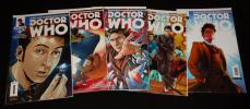Doctor Who - Les nouvelles aventures du Dixième Docteur, n°1 à 5 (5 volumes). Abadzis Nick, Casagrande Elena, Florean Arianna