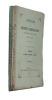 Annales de la Société d'émulation de l'Ain (12e année) (4 volumes). Collectif