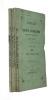 Annales de la Société d'émulation de l'Ain (20e année) (4 volumes). Collectif