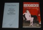 Lot de 2 ouvrages de Frédéric Beigbeder : Dernier inventaire avant liquidation - L'Egoïste romantique. Beigbeder Frédéric
