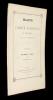 Bulletin du Comité agricole et industriel de la Cochinchine, tome premier, n°I, 1872. Collectif