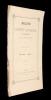 Bulletin du Comité agricole et industriel de la Cochinchine, tome premier, n°II, 1873. Collectif