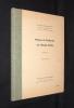 Pluies et cultures en Haute-Volta (3 volumes). Mathey Maurice