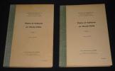 Pluies et cultures en Haute-Volta (2 volumes). Mathey Maurice
