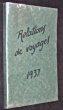 Relations de voyages 1937, Brésil, Chili, Mexique, Mexique, Etats-Unis, Canada. Collectif, Beauval M. de, Rascol M.