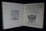 Exposition détaillée des droits et de la conduite de S. M. l'Impératrice Reine Apostolique relativement à l'exposé des motifs qui ont engagé S. M. le ...