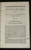 Le Point du jour, 19 juin 1789 - 10 juillet 1790 (11 volumes). Collectif