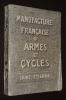 Manufacture française d'armes et cycles, Saint-Etienne. Collectif