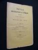 Revue bibliographique & littéraire, III - mars 1896. Collectif