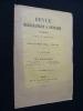 Revue bibliographique & littéraire, IV - avril 1896. Collectif