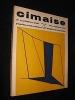 Cimaise, art et architecture actuels, 9e année, n° 62, novembre-décembre 1962. Collectif
