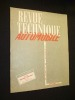 Revue technique automobile, n° 101, septembre 1954. Collectif