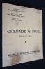 Grenade à fusil modèle 1948 : guide technique sommaire.. Secrétariat d'état aux forces armées (Guerre), Ministère de la Défense Nationale
