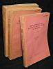 Comunicaciones Zoologicas del Museo de Historia Natural de Montevideo (3 volumes). Collectif