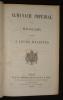 Almanach impérial pour MDCCCLXIX présenté à leurs Majestés. Collectif