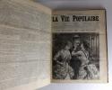 La vie populaire 1887 (2ème trimestre). Daudet Alphonse, Collectif, Maupassant Guy de, Tolstoï Léon, Mirbeau Octave, Zola Emile, Houssaye Arsène