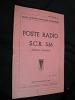 Poste radio S.C.R. 536 (notice d'emploi). Ecole Spéciale militaire interarmes