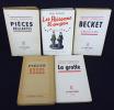Jean Anouilh (lot de 5 ouvrages). Anouilh Jean