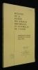 Bulletin de la société des sciences historiques et naturelles de l'Yonne, 122e volume. Collectif