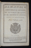 Almanach astronomique et historique de la ville de Lyon, et des provinces de Lyonnois, Forez et Beaujolois, pour l'année 1778. Collectif