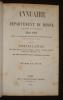 Annuaire du département du Rhône et du ressort de la Cour Impériale pour 1861, suite à la collection séculaire des almanachs de Lyon commencée en 1861 ...