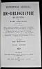 Répertoire général de bio-bibliographie bretonne tome 4. Kerviler René