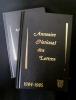 Annuaire national des lettres. Collectif