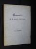 Souvenirs de la guerre 1939-1945. Decressac Françoise