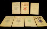 Lot de 7 numéros de la revue 'La Jeune Europe, revue de la jeunesse universitaire européenne' (n°4,6, 7, 8, 11, 12 (1942) et n°1/2 (1943)). Collectif