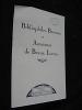 Bibliophiles bretons et amateurs de beaux livres. Anonyme