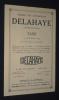 Société des automobiles Delahaye : Tarif 6 octobre 1932. Collectif