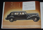 Plaquette Buick 1936. Collectif