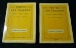 Toutes les chasses. Gibiers, armes, chiens (2 volumes). Le Franc R., Ravaut R.