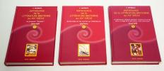 Anthologie de la littérature bretonne au XXe siècle (3 volumes). Favereau Francis
