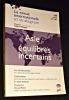 La revue internationale et stratégique, n°44, hiver 2001-2002. Asie : équilibres incertains. Collectif, Niquet Valérie
