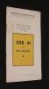 Job 41 (récitations chorales, 5ème série). Chancerel Léon
