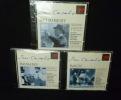 Pablo Casals. Les absolus (coffret 3 CD). Bach J. S., Schubert Franz, Brahms Johannes