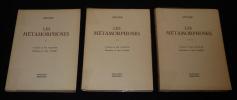 Les Métamorphoses (3 volumes). Apulée