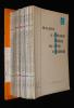 Bulletin de l'Association Française pour l'Etude du Quaternaire (22 numéros, 1967-1974). Collectif