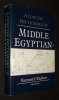 A Concise Dictionary of Middle Egyptian. O'Faulkner Raymond