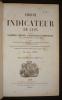 1860-61 Indicateur de Lyon contenant le commerce, l'industrie, la magistrature et l'administration de l'agglomération lyonnaise. Lorin Emile