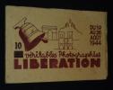 10 Véritables photographies du 19 au 26 août 1944  : Libération. Collectif